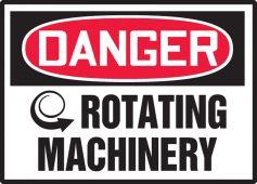 - OSHA Danger Safety Label - Rotating Machinery