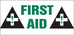 - Safety Label: First Aid
