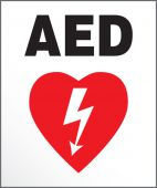 - Safety Label: AED