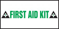 - Safety Label: First Aid Kit
