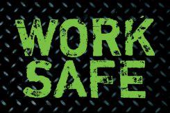 - Hard Hat Stickers: Work Safe