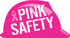 - Hard Hat Stickers: Pink Safety