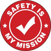 - Hard Hat Stickers: Safety Is My Mission