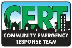 - Hard Hat Stickers: CERT - Community Emergency Response Team