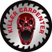 - Hard Hat Stickers: Killer Carpenter