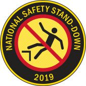 - Hard Hat Stickers: National Safety Stand-Down 2019 (Yellow)