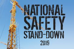 - Hard Hat Stickers: National Safety Stand-Down 2019 (Blue)