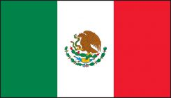 - Hard Hat/Helmet Stickers: Mexican Flag