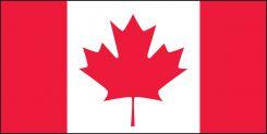 - Hard Hat Stickers: Canadian Flag (Drapeau Canadien)