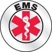 - Emergency Response Reflective Helmet Sticker: EMS