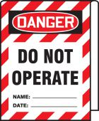 - OSHA Danger Cable Wrap: Do Not Operate