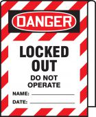 - OSHA Danger Cable Wrap: Locked Out Do Not Operate