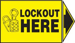 - Lockout / Tagout Safety Labels