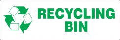 - RECYCLE LABEL