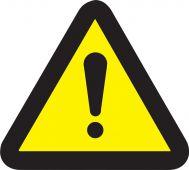 - ISO Safety Label - General Warning Hazard