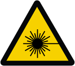 - ISO Warning Safety Label: Laser Beam (2011)