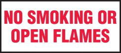 - Safety Label: No Smoking Or Open Flames