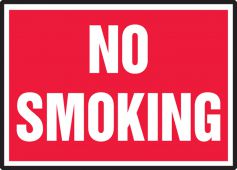 - Smoking Control Safety Labels