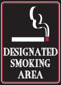 - Safety Label: Designated Smoking Area