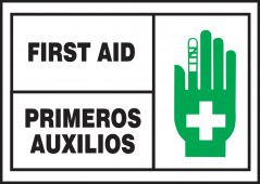 - Bilingual Safety Labels: First Aid