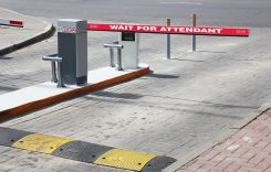 - Gate Arm Sign: Wait For Attendant