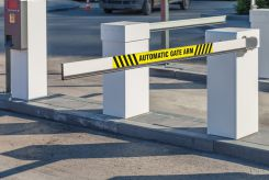 - Gate Arm Sign: Automatic Gate Arm