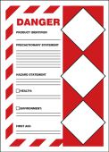 - GHS Secondary Container Labels: DANGER