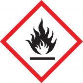 - GHS Pictogram Label: Flame
