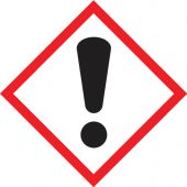 - GHS Pictogram Label: Exclamation Mark