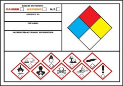 - GHS/NFPA Secondary Label