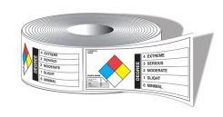 - NFPA Diamond Identifier Roll Labels: Chemical Classification Identifier