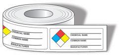 - NFPA Diamond Identifier Roll Labels: Common Chemical Identifier