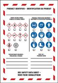 - Bilingual Safety Label: WHMIS Product Identifier