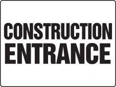 - Really BIGSigns™: Construction Entrance