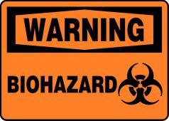 - Warning Safety Sign: Biohazard