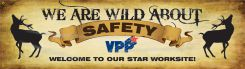 VPP Banners - VPP Banners: We Are Wild About Safety