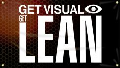 - 5S Motivational Banner: Get Visual Get Lean