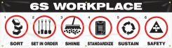 - 6S Banner: 6S Workplace