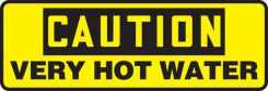 - OSHA Caution Safety Sign: Very Hot Water