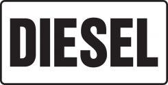- Safety Sign: Diesel