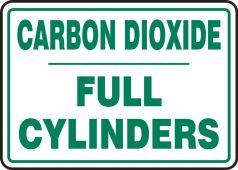 - Cylinder Sign: Carbon Dioxide Cylinder Status