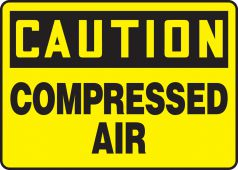 - OSHA Caution Safety Sign: Compressed Air
