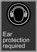 - Safety Sign: Ear Protection Required