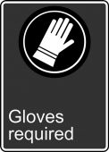 - Safety Sign: Gloves Required
