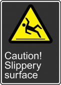 - Safety Sign: Caution! Slippery Surface
