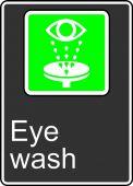 - Safety Sign: Eye Wash