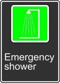 - Safety Sign: Emergency Shower