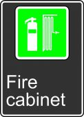 - Safety Sign: Fire Cabinet