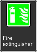 - Safety Sign: Fire Extinguisher