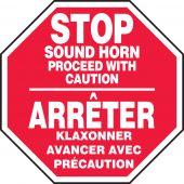 - BILINGUAL FRENCH SIGN - TRAFFIC